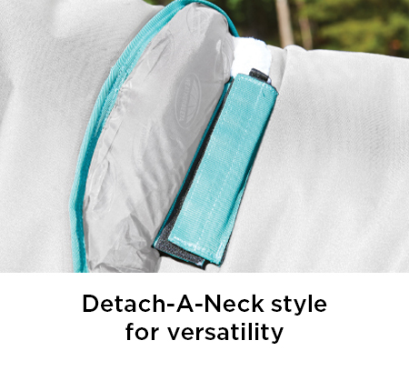 Detach-A-Neck style for versatility