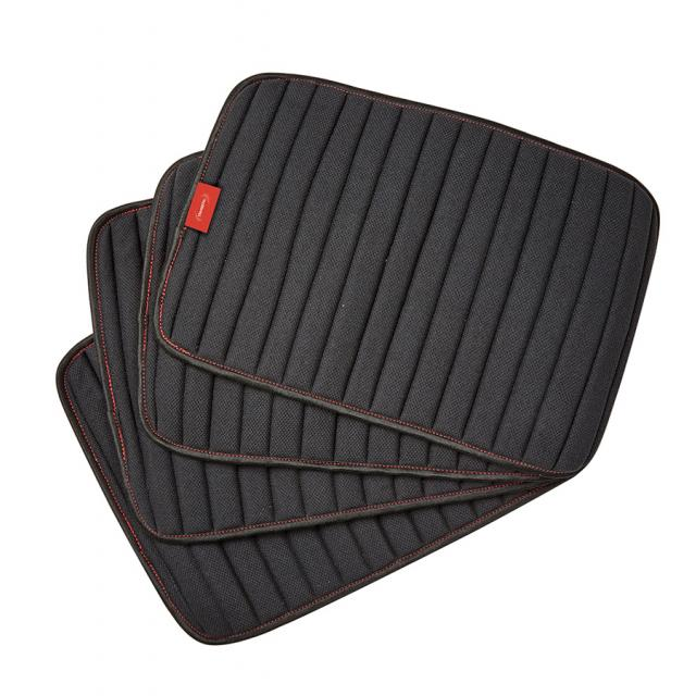 WeatherBeeta Therapy-Tec Channel Quilt Leg Pads 4 Pack Black/Red