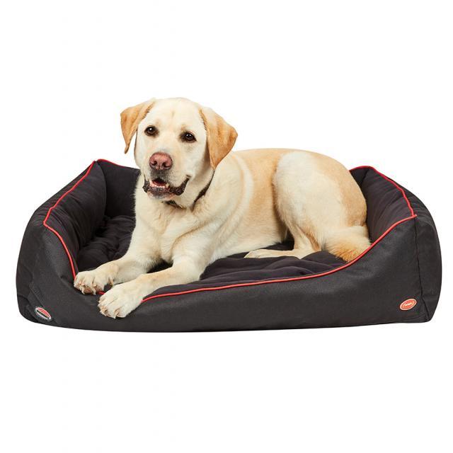 WeatherBeeta Therapy-Tec Dog Bed Black/Red