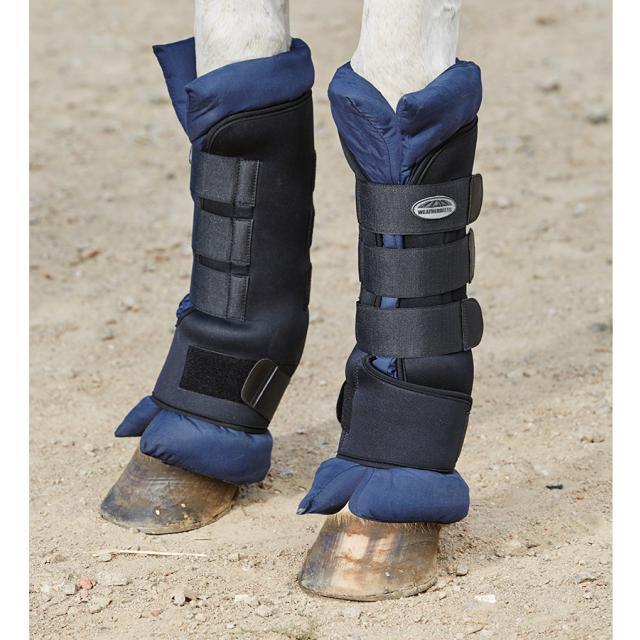WeatherBeeta Stable Boot Wraps Black/Navy