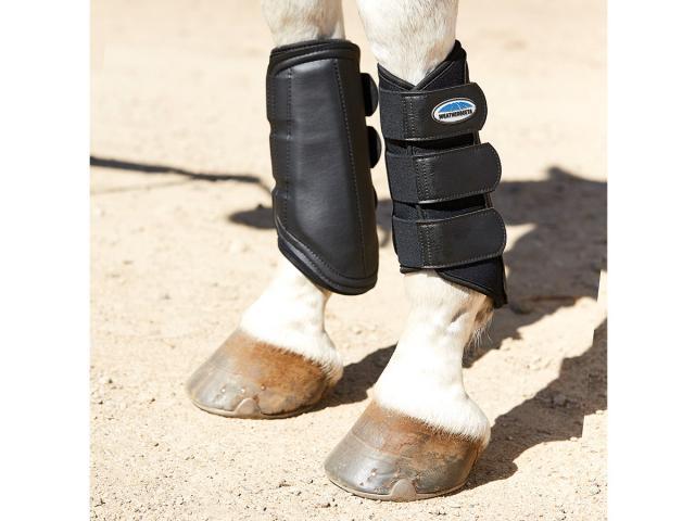 WeatherBeeta Single Lock Brushing Boots Black