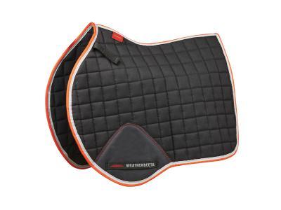 WeatherBeeta Therapy-Tec All Purpose Saddle Pad Black/Silver/Red