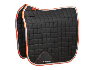 WeatherBeeta Therapy-Tec Dressage Saddle Pad Black/Silver/Red