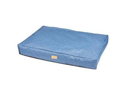 WeatherBeeta Pillow Denim Dog Bed Blue