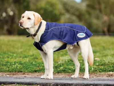 WeatherBeeta 1200D Exercise Dog Coat Navy