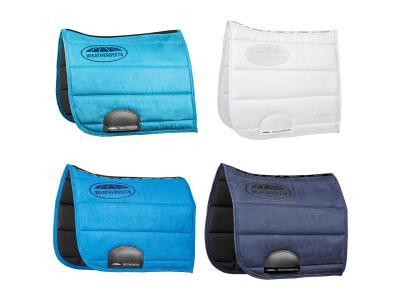 WeatherBeeta Elite Dressage Saddle Pads Light Blue, White, Royal Blue & Navy