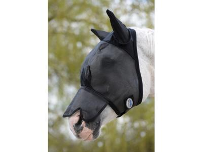 WeatherBeeta Fly Mask with Nose Black