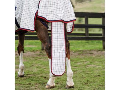 WeatherBeeta Summer Sheet Tail Bag Lite White/Navy/Red